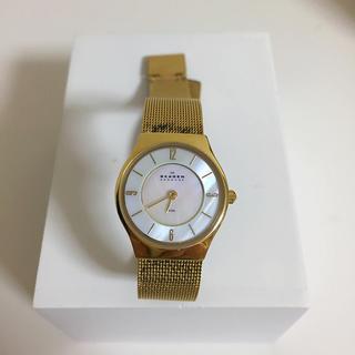スカーゲン(SKAGEN)のゴールド 腕時計 スカーゲン(腕時計)