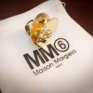 エムエムシックス(MM6)のMM6 シンバルリング(リング(指輪))