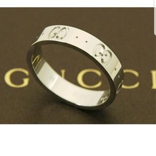 グッチ(Gucci)のGUCCI指輪 18k最終値下げ!! ピンキーリング4号美品(リング(指輪))