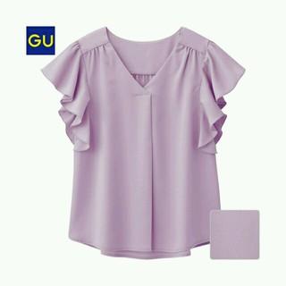 ジーユー(GU)のセットで♪新品ブラウスとフリルT(シャツ/ブラウス(半袖/袖なし))