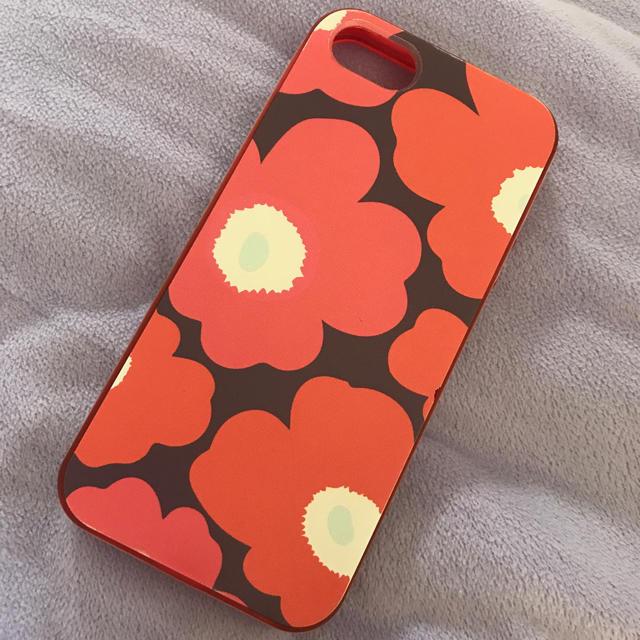marimekko(マリメッコ)のマリメッコ iPhone5sケース スマホ/家電/カメラのスマホアクセサリー(iPhoneケース)の商品写真