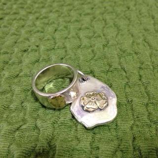 ゴローズ(goro's)のゴローズ平打ちリング&ヘッド(リング(指輪))