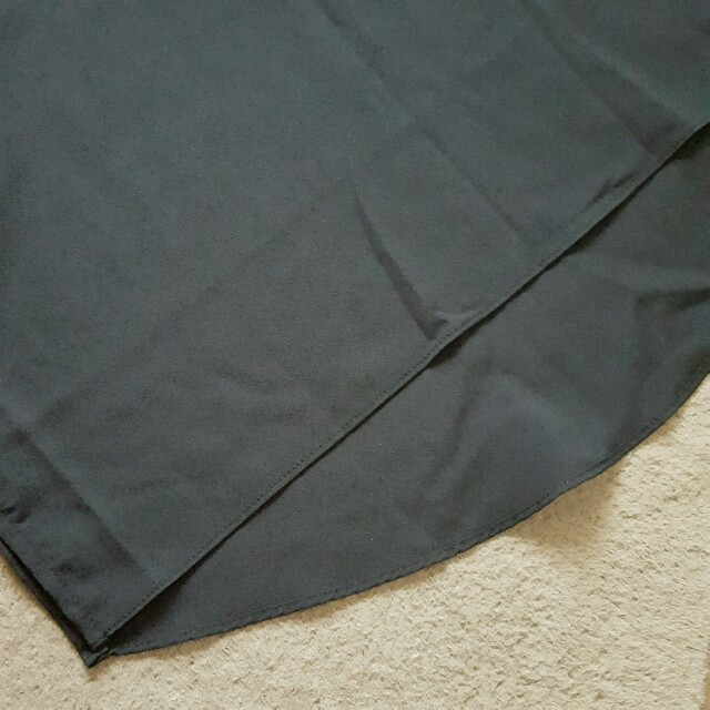 未使用❗シフォンブラックタンクトップ レディースのトップス(シャツ/ブラウス(半袖/袖なし))の商品写真