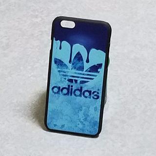 アディダス(adidas)のiPhone6/6s専用スマホケース ハードケース adidas 新品 ブルー(iPhoneケース)
