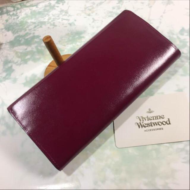 Vivienne Westwood(ヴィヴィアンウエストウッド)の未使用☺︎Vivienne Westwood 財布 ヴィヴィアン パープル レディースのファッション小物(財布)の商品写真