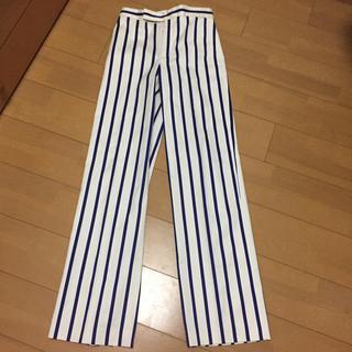 ラルフローレン(Ralph Lauren)の新品 ラルフローレン ストライプ パンツ サイズ0(カジュアルパンツ)