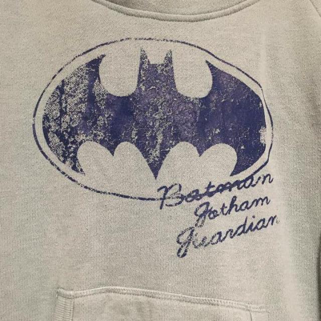 DOUBLE NAME(ダブルネーム)のバットマン パーカー レディースのトップス(パーカー)の商品写真