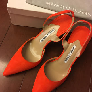 マノロブラニク(MANOLO BLAHNIK)の新品未使用 マノロブラニク キャロライン(ハイヒール/パンプス)