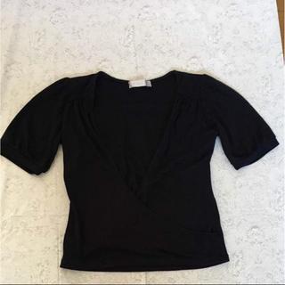 パウダーシュガー(POWDER SUGAR)のパウダーシュガー 紺色カットソー(カットソー(半袖/袖なし))
