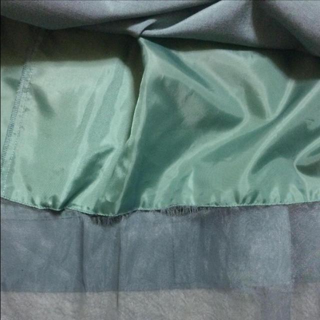 Jocomomola(ホコモモラ)のjocomomola グリーンワンピース レディースのワンピース(ロングワンピース/マキシワンピース)の商品写真