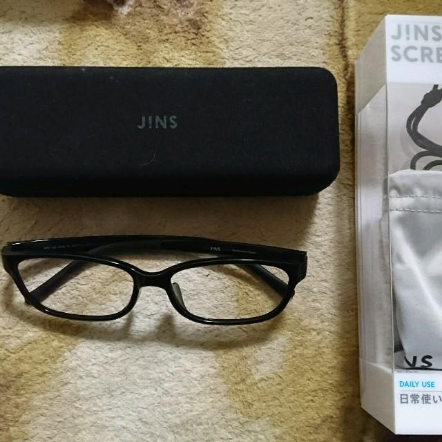 JINS ブルーライトカット メンズのファッション小物(サングラス/メガネ)の商品写真