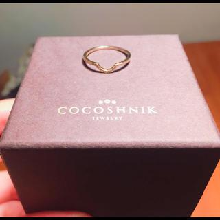 ココシュニック(COCOSHNIK)の梨様専用   新品  ココシュニックダイヤリング♪(リング(指輪))