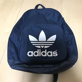 アディダス(adidas)のadidas 紺色 リュックサック(バッグパック/リュック)