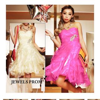 ジュエルズ(JEWELS)の新品タグ付きjewelsキャバドレス(ナイトドレス)