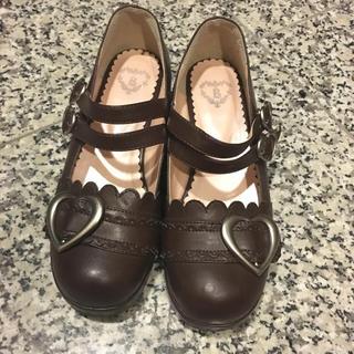 ベイビーザスターズシャインブライト(BABY,THE STARS SHINE BRIGHT)のBABY☆ハートバックルシューズ(ローファー/革靴)