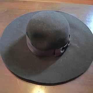 マウジー(moussy)のマウジー帽子新品未使用  お値下げしました。(ハット)