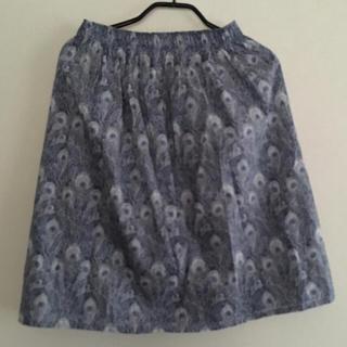 サンスペル(SUNSPEL)のSUNSPEL スカート リバティ Bshop(ひざ丈スカート)