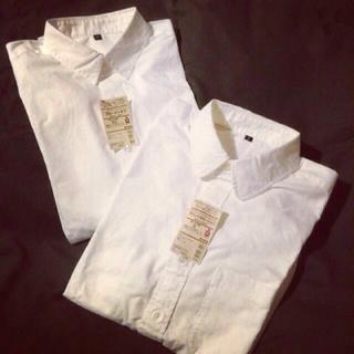 ムジルシリョウヒン(MUJI (無印良品))の無印 フレンチリネン洗いざらしシャツ(シャツ/ブラウス(長袖/七分))