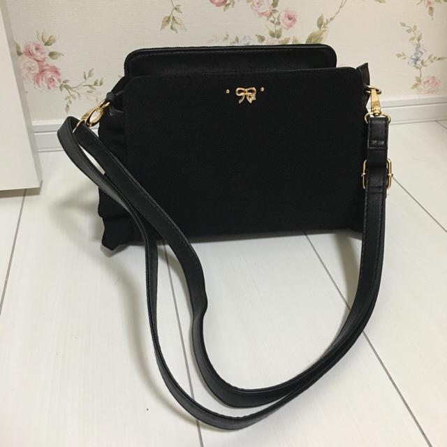 しまむら(シマムラ)のリボンフリルバッグ♡ レディースのバッグ(ショルダーバッグ)の商品写真