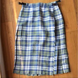 クラシコ(Classico)のO'NIEL OF DUBLIN ミディアム丈ラップスカート(ひざ丈スカート)