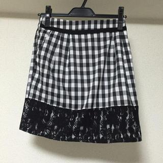マーキュリーデュオ(MERCURYDUO)のマーキュリーデュオ ギンガムチェック スカート(ミニスカート)