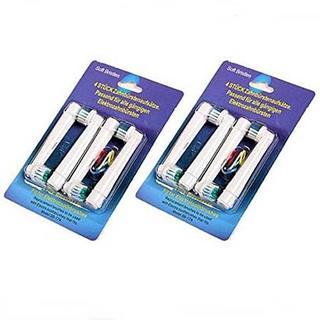 ブラウン Oral-B対応 替えブラシ 互換ベーシックブラシ 4本×2 合計8本(歯ブラシ/デンタルフロス)