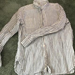 ムジルシリョウヒン(MUJI (無印良品))の無印良品ストライプシャツ