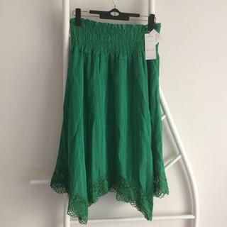 ベルメゾン(ベルメゾン)の新品未使用 ◇ 涼しげな 夏 スカート(ひざ丈スカート)