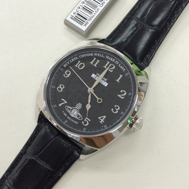 60636df71b Vivienne Westwood(ヴィヴィアンウエストウッド)の新作 ヴィヴィアン 腕時計 メンズ VV175SLBK ブラック レザー メンズ