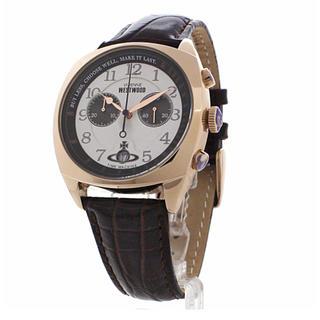 b527a7f4bb ヴィヴィアンウエストウッド(Vivienne Westwood)の新作 ヴィヴィアン 腕時計 メンズ VV176WHBR ダークブラウン(
