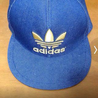 アディダス(adidas)のadidasの帽子(キャップ)