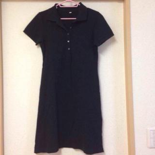 ムジルシリョウヒン(MUJI (無印良品))の無印良品 ポロシャツ ワンピース