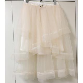 リズリサ(LIZ LISA)のリズリサ♡ランダムティアードスカート(ひざ丈スカート)