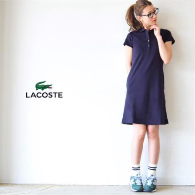 be6d3917ff7de LACOSTE(ラコステ)のラコステ ポロシャツワンピース レディースのワンピース(ひざ丈ワンピース)