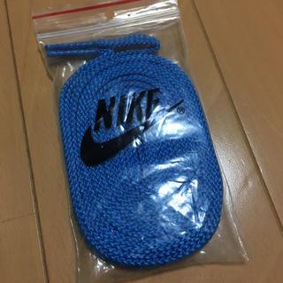 ナイキ(NIKE)のナイキ  ブルー  靴紐(その他)