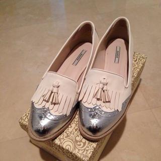 ランダ(RANDA)のRANDA♡フリンジローファー(ローファー/革靴)