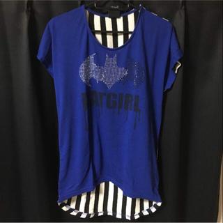 シマムラ(しまむら)のバットマン tシャツ(Tシャツ(半袖/袖なし))