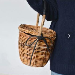 シップスフォーウィメン(SHIPS for women)の【値下げ】ships シップス かごバッグ バスケット カゴ menui(かごバッグ/ストローバッグ)