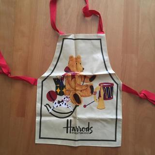 ハロッズ(Harrods)のHarrods♡子供用エプロン(お食事エプロン)