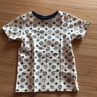 スーパー(SUPER)の総柄Tシャツ110(Tシャツ/カットソー)