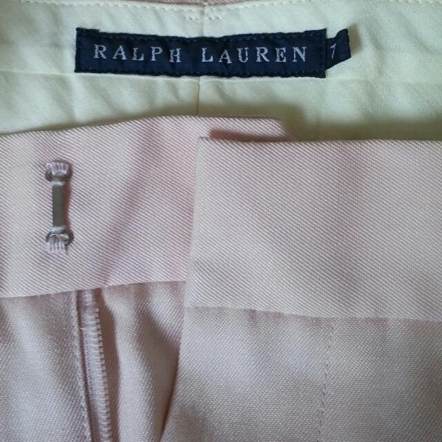 Ralph Lauren(ラルフローレン)のピンクラルフローレンパンツ レディースのパンツ(カジュアルパンツ)の商品写真