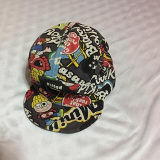 ヒステリックミニ(HYSTERIC MINI)のヒスミニ リバーシブル 帽子 ※プロフィール※(帽子)