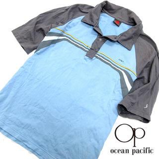 オーシャンパシフィック(OCEAN PACIFIC)の美品!! オーシャンパシフィック メンズ 半袖ポロシャツ W75 (ポロシャツ)