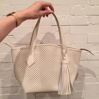 ノーブル(Noble)のTassels hand bag.(ハンドバッグ)