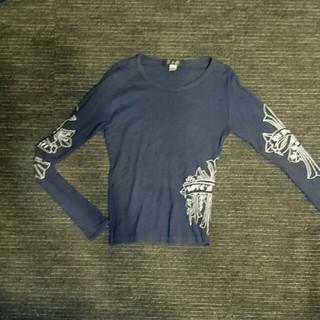 クロムハーツ(Chrome Hearts)のAGのネイビーのロンT✨(Tシャツ(長袖/七分))