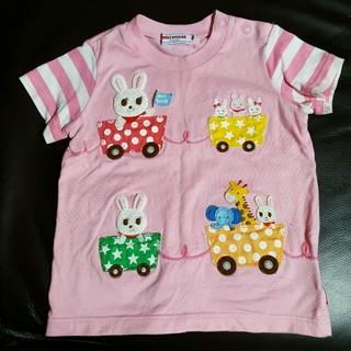 ミキハウス(mikihouse)のミキハウス トロッコ Tシャツ 80(Tシャツ)