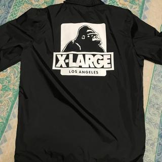 エクストララージ(XLARGE)のXLARGE エクストララージ コーチジャケット OGロゴ 黒(ナイロンジャケット)