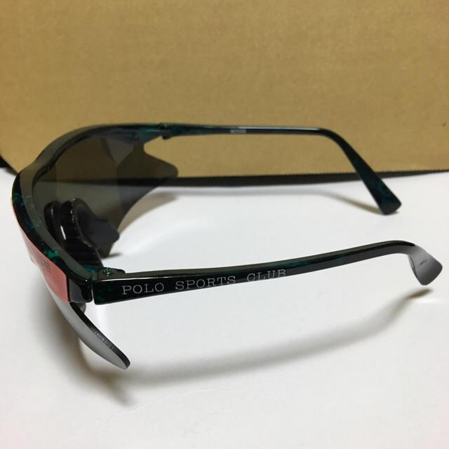 POLO SPORTS CLUB 新品未使用サングラス グリーンマーブル メンズのファッション小物(サングラス/メガネ)の商品写真