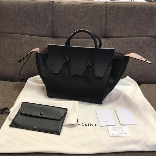 0a32b28a688a celine(セリーヌ)のセリーヌ タイ celine tie ブラック 希少 レディースのバッグ(ハンドバッグ