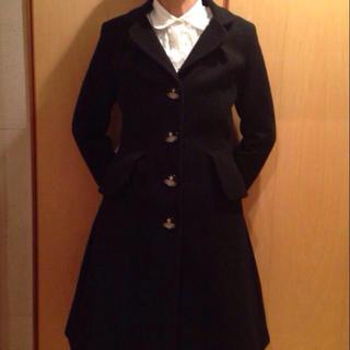 ヴィヴィアンウエストウッド(Vivienne Westwood)のヴィヴィアン.カシミア混ロングコート(ロングコート)
